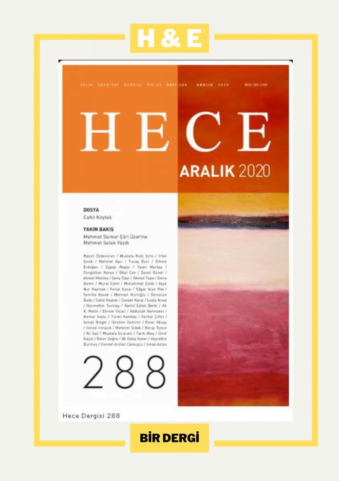 Hece Dergisi 288. Sayı