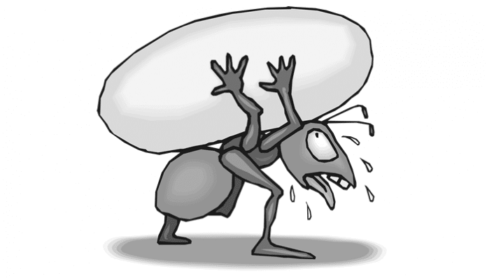 Tevfik Fikret Şiirleri-Ağustos Böceği İle Karınca